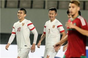 热身-张玉宁双响李源一进球 中国国奥4-0摩洛哥
