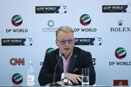 欧巡新任首席履行官基斯-佩利在新赛季路程公布会上