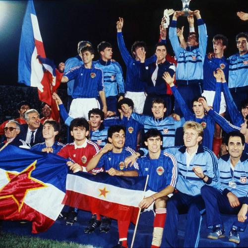 1987年世青賽,南斯拉夫黃金一代奪冠