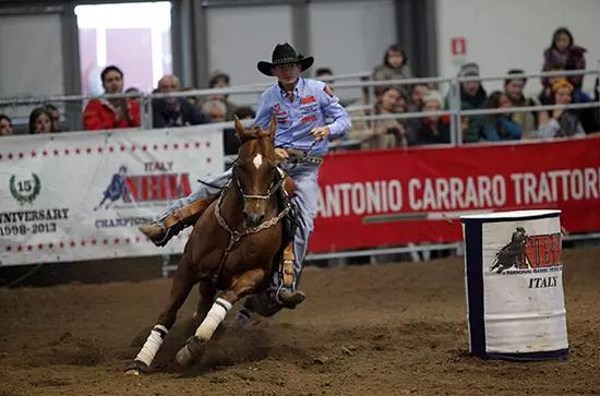 西部秀场(Westernshow)是维罗纳马展最让人期盼的表演活动之一