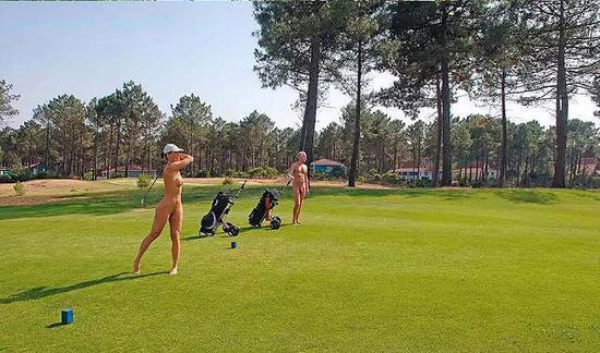 拉简尼球场是世界上让人最疯狂的高尔夫球场之一