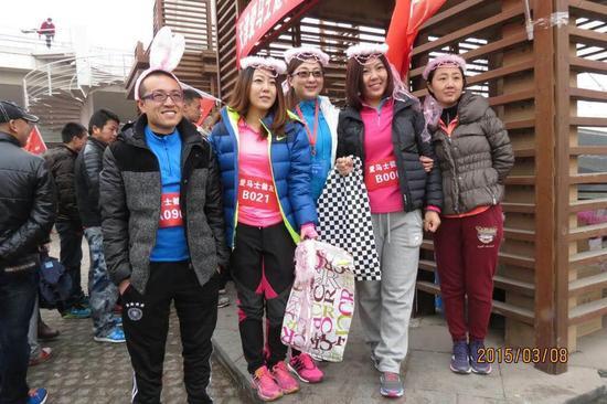 妇女节跑步