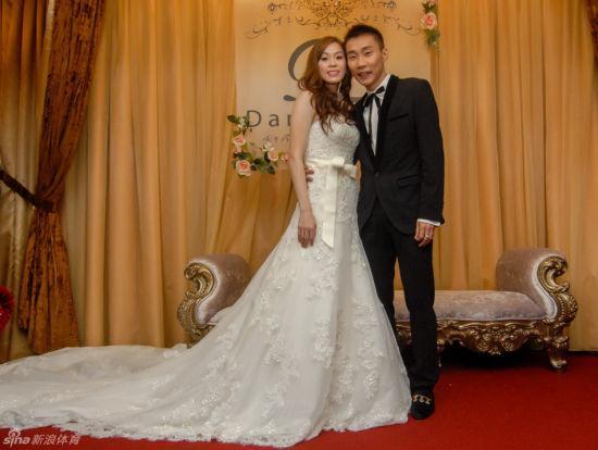 李宗伟和老婆黄妙珠