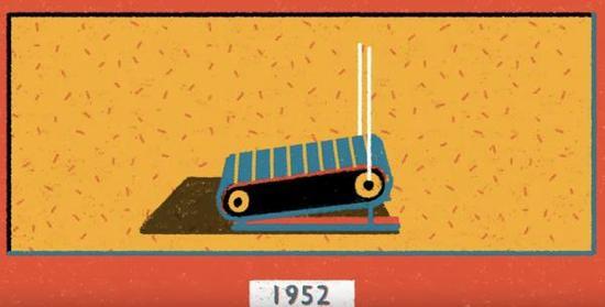 """1952年""""前驱型""""机械"""