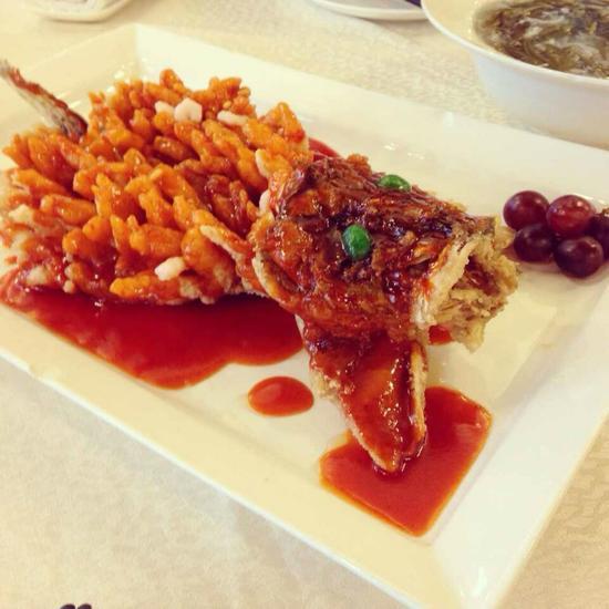 松鼠桂鱼。