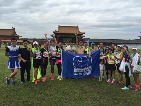 2015横店马拉松-超能跑团 超能跑团超能跑 年轻活力就爱跑