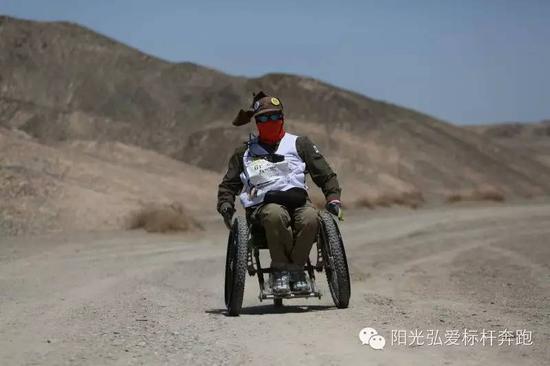 周宝林教师加入沙漠行走流动