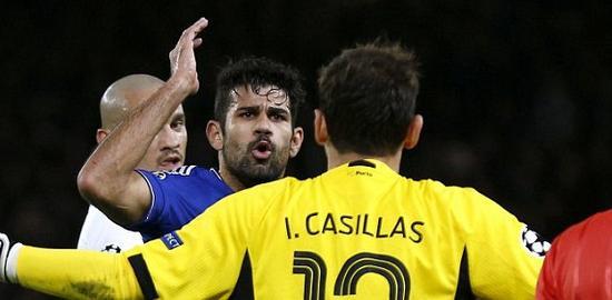 科斯塔同卡西利亚斯争吵