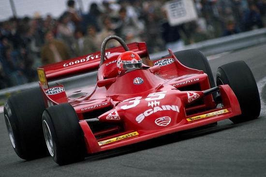 1979年阿尔法-罗密欧厂商队重返F1,使用177赛车参赛。