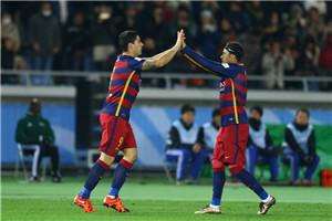 世俱杯-梅西破门苏神2球 巴萨3-0胜河床夺冠
