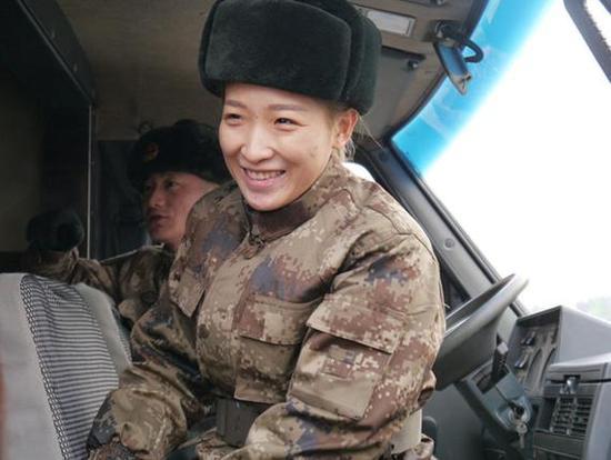刘诗雯担任雷达站站长