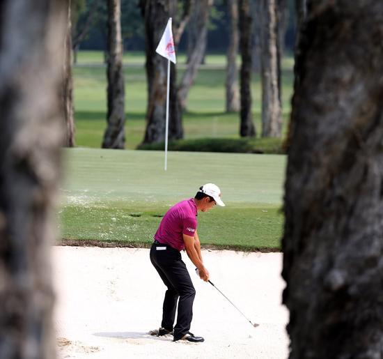香港高尔夫俱乐部的9号洞