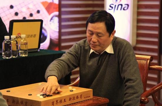 郑伟民参加商界棋王赛
