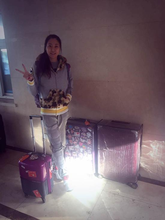 杨珺菁远赴美国