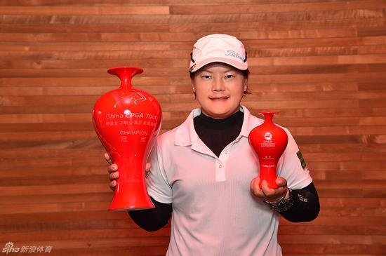 CLPGA北京挑战赛冠军潘艳红