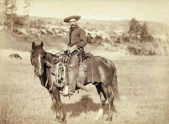 西部牛仔的存在是一种短暂的历史现象,是美国西部从一八六六年到一八八六年这段时期盛极一时的一种畜牧行业的工人。这种职业的产生,有赖于冷藏设备的火车车厢的发明,但另一项发明有刺的铁丝网又使这种职业很快销声匿迹。    时间表   1525年,西班牙种的牛开始从西印度群岛引入北美大陆。   1540年,西班牙探险家科罗纳多横渡大西洋去北美寻找传说中的瑟博拉七宝城,他还带了500头牛,这些牛被运到今天墨西哥北部和今天美国的亚利桑那州一带。此后,牛群不断繁殖,逐渐遍布今墨西哥北部和哈利斯科州。   161