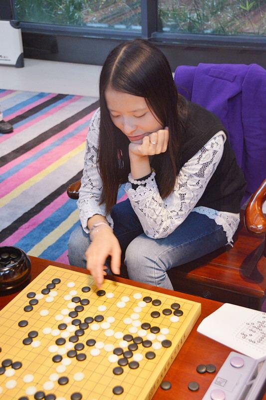 邓歆懿表示围棋对她人生有重大意义