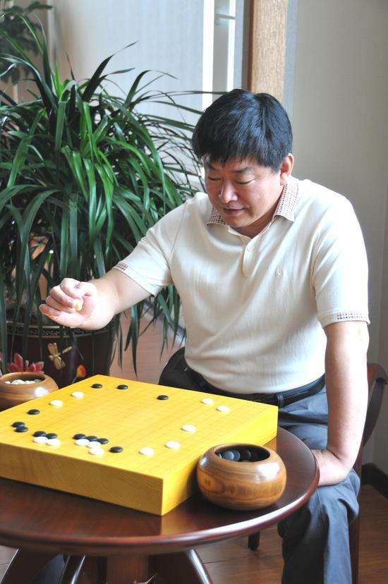 宋树新酷爱围棋