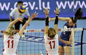 欧洲女排奥运资格赛揭幕 俄德两强险胜夺开门红