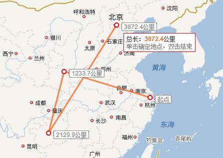 贵州手绘线路图