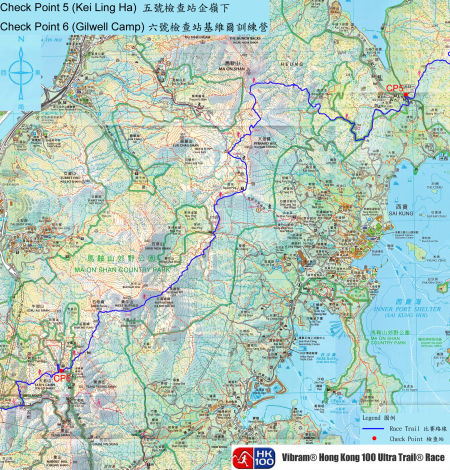 CP5至CP6路线图。