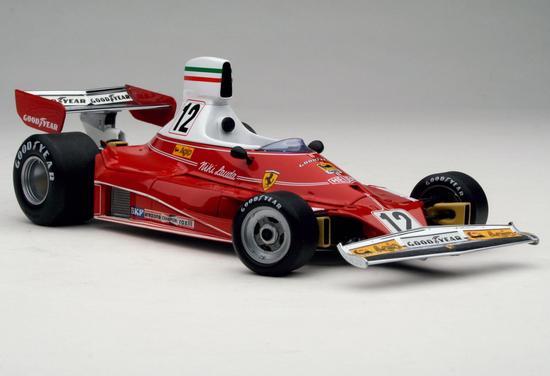 复古涂装让人想起了尼基劳达在1975年驾驶的法拉利赛车