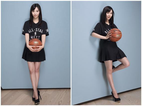 多伦多校园女神带你去看NBA全明星赛(图)