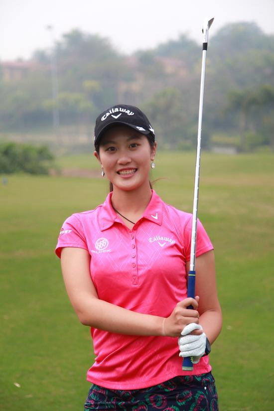 林希妤代表中国一队出战