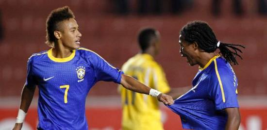 毛里西奥曾是内马尔在巴西国青队中的队友