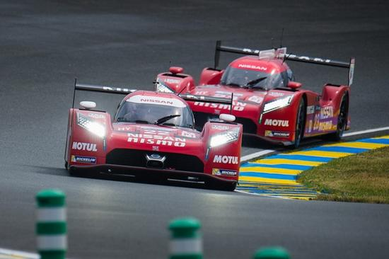 三部日产赛车中最快的一部,其圈速也要比最快的车慢18.413秒
