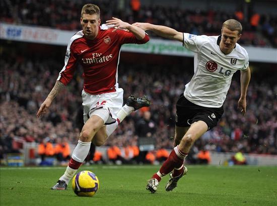 阿森纳2009年2月的3场英超打了3个0-0