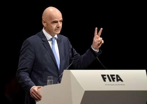 因凡蒂诺当选国际足联新主席