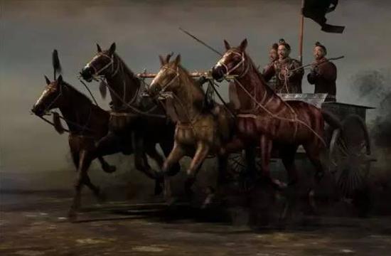 秦国的战车和战车兵
