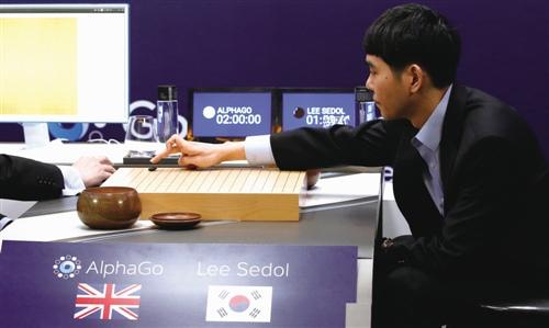 google野生智能体系AlphaGo对战全球围棋冠军李世石