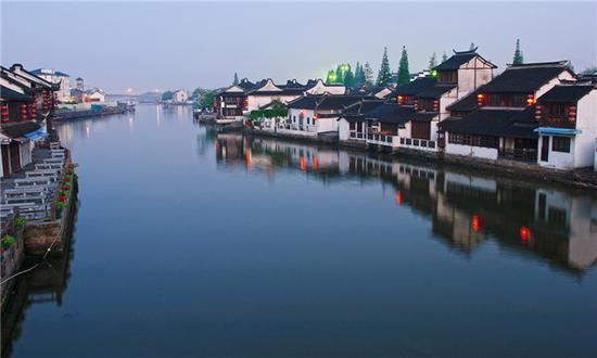 上海青浦半程