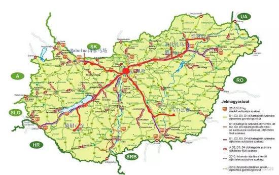 2016匈牙利耐力赛&欧洲风情行-行程示意图