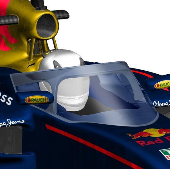 红牛车队公布了其设计的f1赛车