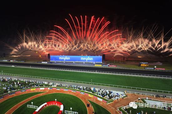 图源Dubai World Cup FB