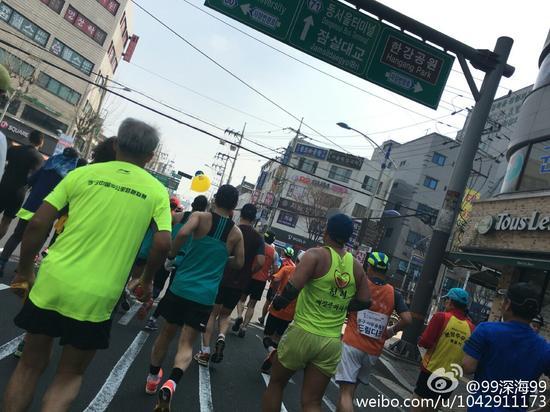 跑友故事NO.53:首尔首马首秀愉快旅行艰辛比赛