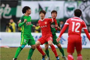 中超-河太均头球制胜 国安0-1延边开局两轮不胜