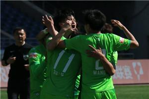 中甲-新疆主场2-0战胜申鑫 主场开门红+赛季首胜