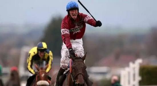 骑师David Mullins和赛马Rule The World