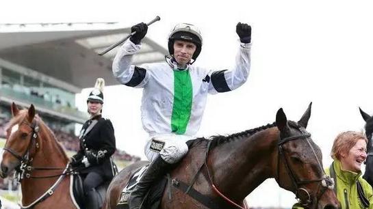 骑师Leighton Aspell和赛马Pineau De Re