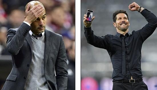 两种足球理念的碰撞