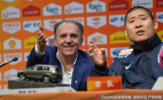 德拉甘:足球比赛偶然性很大 逆转鲁能感觉很兴奋