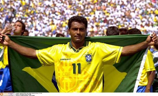1994年夺冠成了罗马里奥的世界杯绝唱