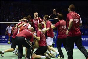 阿塞尔森赢得开门红 丹麦3-2印尼67年首捧汤杯
