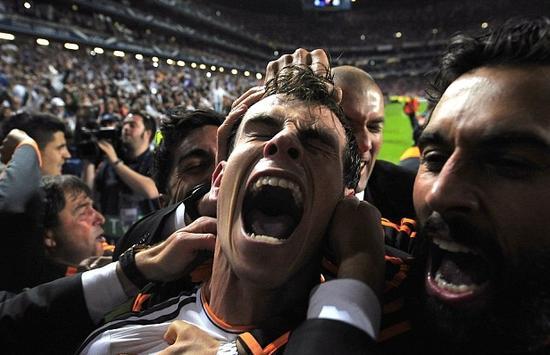 2014年欧冠决赛的一幕