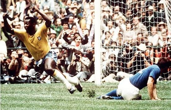 1970年世界杯决赛贝利首开纪录