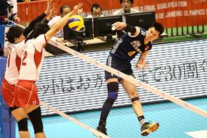 奥运落选赛男排3-0日本获首胜 暂居第四保留希望